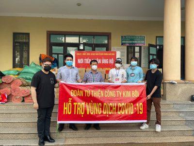 Kim Bôi chung tay đẩy lùi dịch Covid-19 tại Bắc Ninh